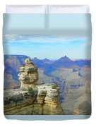 Lonely Rock Duvet Cover