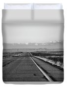 Lonely Route 24 Duvet Cover