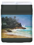 Lonely Sea Duvet Cover