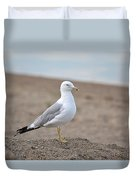 Lonely Seagull Duvet Cover