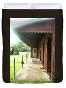Lonely Stables Duvet Cover