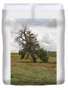 Lonely Tree In West Texas Duvet Cover