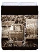 Lonely Truck Duvet Cover