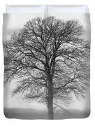 Lonely Winter Tree Duvet Cover