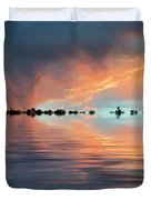 Lonesome Bird Duvet Cover