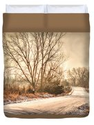 Lonesome Road Duvet Cover