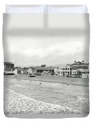 Long Beach California C. 1910 Duvet Cover