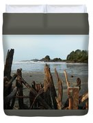 Long Beach, Tofino Duvet Cover