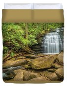 Long Creek Falls Duvet Cover
