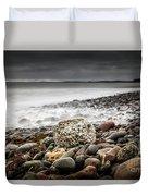 Long Exposure At Lawrencetown Beach, Nova Scotia Duvet Cover
