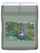 Long Exposure Waterfall Duvet Cover
