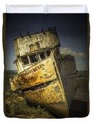 Long Forgotten Boat Duvet Cover