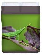 Long Grasshopper Duvet Cover