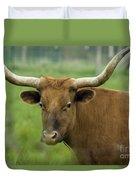 Long Horn Cow Duvet Cover