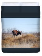 Long Horn Duvet Cover