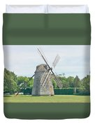 Long Island Wind Mill Duvet Cover