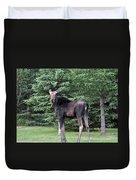 Long Legged Moose Duvet Cover