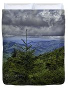 Long Misty Days Duvet Cover