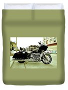 Long Pipes Duvet Cover
