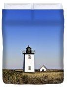 Long Point Lighthouse Duvet Cover