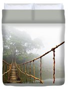 Long Rope Bridge Duvet Cover