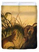 Long - Tailed Weasel Duvet Cover