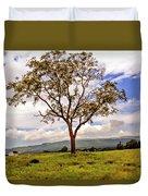 Long Tree Shenandoah Valley West Virginia  Duvet Cover