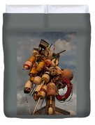 Long Wharf Buoys Duvet Cover