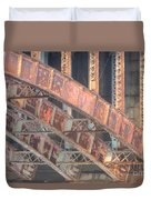 Longfellow Bridge Arches IIi Duvet Cover