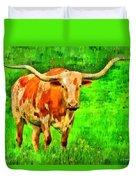 Longhorn 2 - Pa Duvet Cover