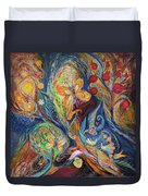 Longing For Chagall Duvet Cover