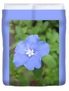 Lonly Blue Flower Duvet Cover