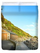 Looe Boathouse Duvet Cover
