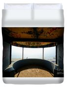 Look Out Post Interior Duvet Cover