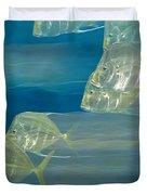 Lookdown Fish Selene Sp. In Motion Duvet Cover