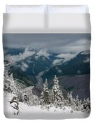 Looking Down The Canyon Duvet Cover