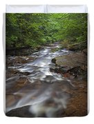 Looking Downstream Duvet Cover