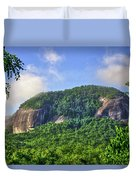 Looking Glass Rock Close Up Duvet Cover