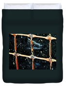Looking Into The Night Duvet Cover by Lenore Senior