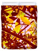 Looking Through Tree Leaves 2 Duvet Cover