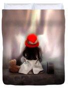 Lonely Girl Duvet Cover