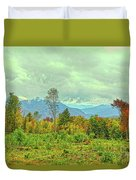 Looking To The Mountains Duvet Cover