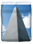 Looking Up At Bunker Hill Duvet Cover