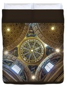 Looking Up In St Peter's Basilica Duvet Cover
