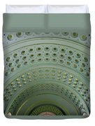 Looking Up In Union Station -- A Westward View Duvet Cover
