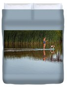 Lookout Dog Duvet Cover