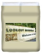 Lookout Mountain Duvet Cover