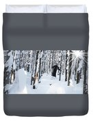 Lookout Trees Duvet Cover