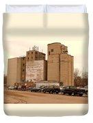 Looks Like Grain Duvet Cover