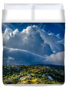 Looming Storm Clouds Duvet Cover